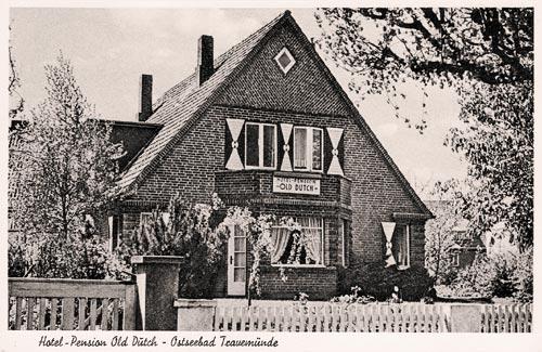 Achterdeck 9 Travemünde - Old Dutch - Ansichtskarte