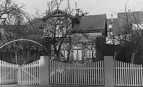 Bertlingstraße 2 - in den 20ern