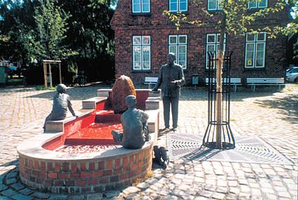 Timmermann-Brunnen in Travemünde