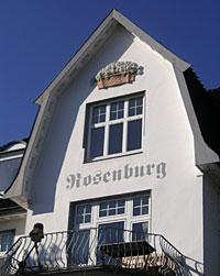 """Giebel der """"Rosenburg"""""""