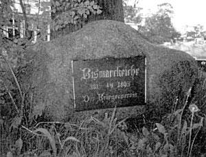 Bismarck-Gedenkstein in Travemünde