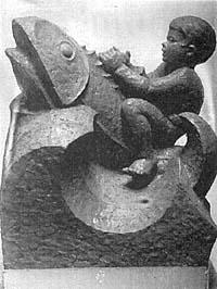 Erich Prüßing - Brunnenfigur