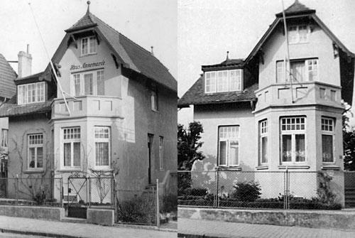 Rose 36, 1936 und 1949 v. l.