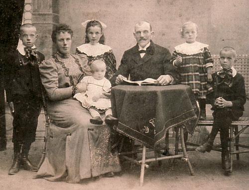 Familie Behrens 1908