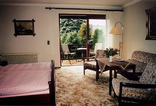 Gästezimmer des Hotels Haus Soldwisch
