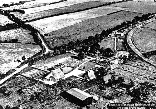 Theodor-Schwartz-Haus, Luftaufnahme, Abb. 1
