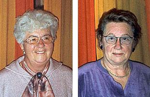 Anita Schmöde und Hedi Wiechmann