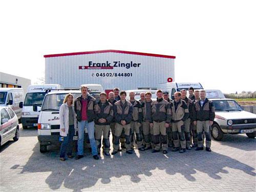 Firma Frank Zingler Belegschaft 2007