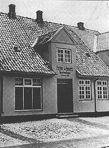Kurgartenstraße 13 um 1900