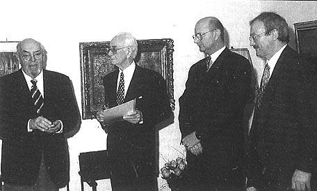 85. Geburtstag am 7. Januar 1998 im Kelter-Verlagshaus in Hamburg