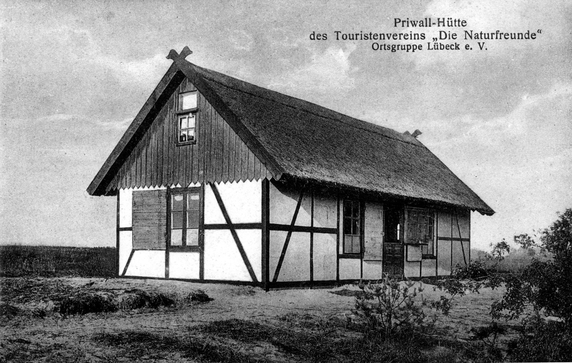 """Priwall-Hütte des Touristenvereins """"Die Naturfreunde"""" Ortsgruppe Lübeck e. V."""