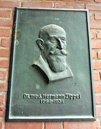 Gedenktafel Dr. med. Hermann Zippel
