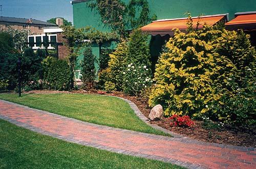 Garten des Hotels Haus Soldwisch