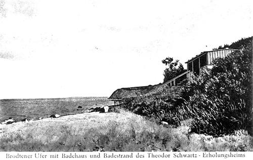 Theodor-Schwartz-Haus, Badehäuschen am Brodtener Ufer, Abb. 4