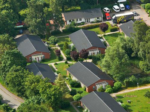 Theodor-Schwartz-Haus, Luftbild Apartmenthäuser, Abb. 9