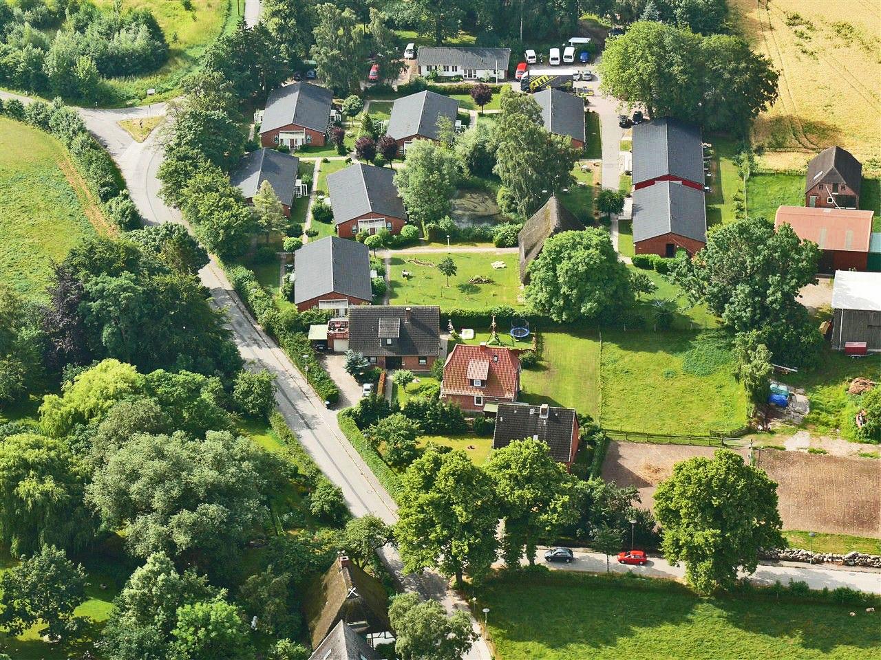 Theodor-Schwartz-Haus, Luftbild